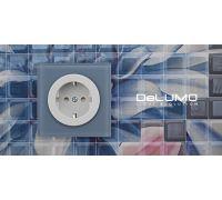 Электрическая розетка DeLUMO