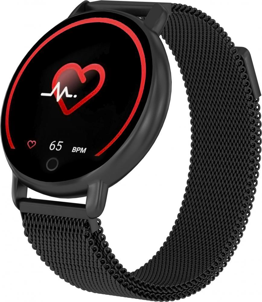 Часы GSMIN WP50 (2020) с измерением давления и пульса (Черный)