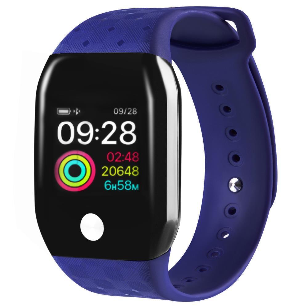 Часы GSMIN A88+ (2019) с измерением давления и пульса (Синий)