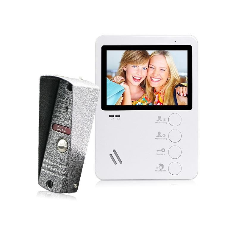 Комплект видеодомофона с вызывной панелью Optimus